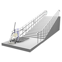 Lifting platforms for disabled people