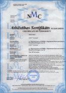 Сертификат соответствия (ЕС). МТ-25.